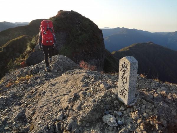 八海山2日目-1 摩利支岳