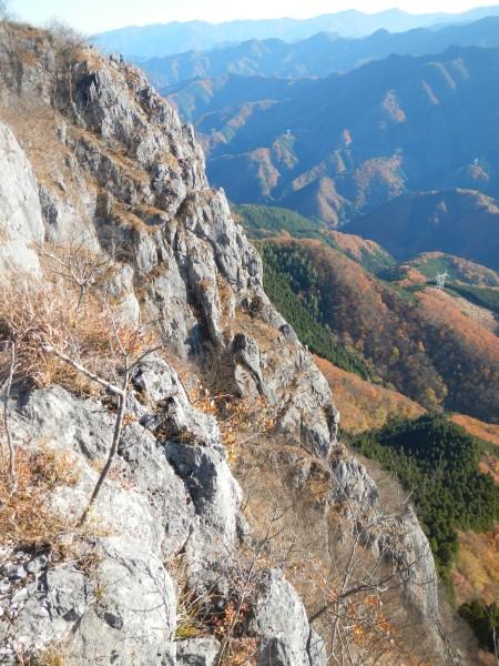 二子山中央稜 029