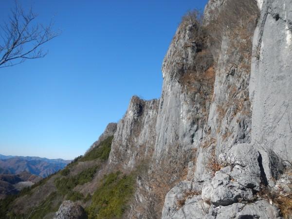 二子山中央稜 019