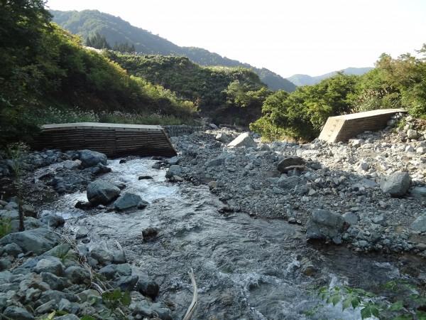 八海山2日目-8 堰堤