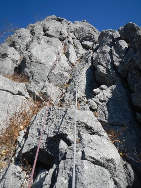 二子山中央稜 027