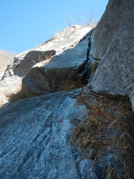 二子山中央稜 017