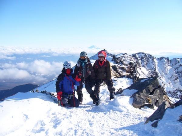 09 横岳山頂 記念撮影