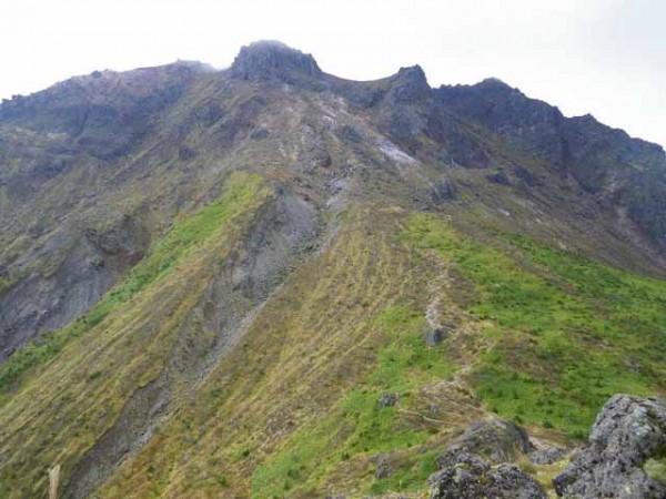 展望台からの焼岳