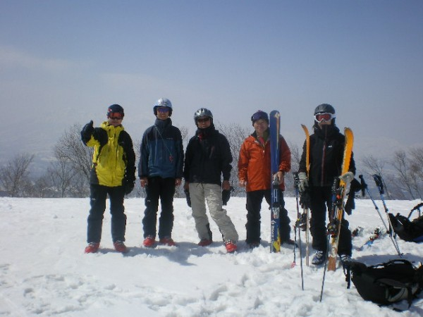 鍋倉山頂上5
