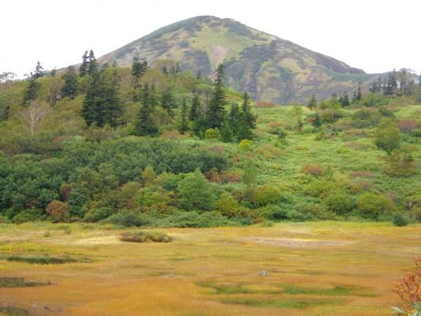 高谷池からの火打山