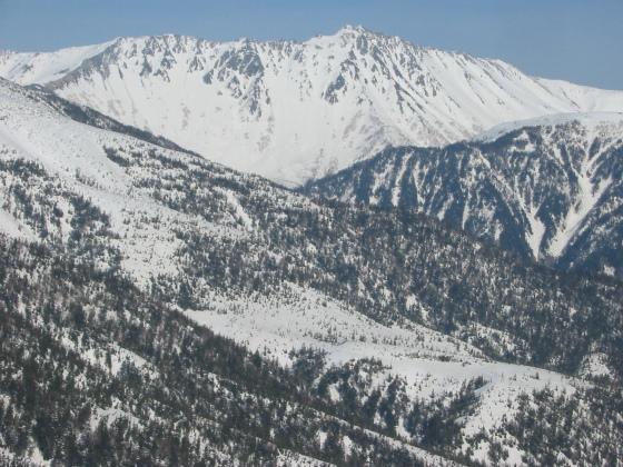 5太郎山からの水晶岳