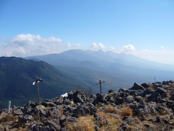 05 南八ヶ岳(蓼科山山頂から)