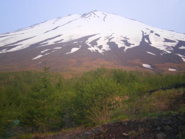須走口からの富士山