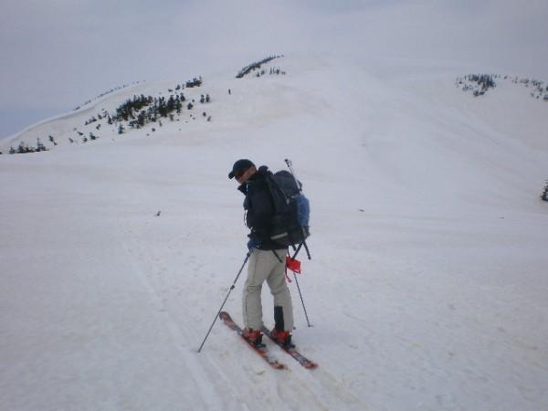 平ヶ岳への登り