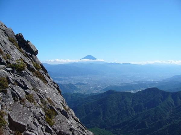 07 富士山(1ピッチ目終点から)
