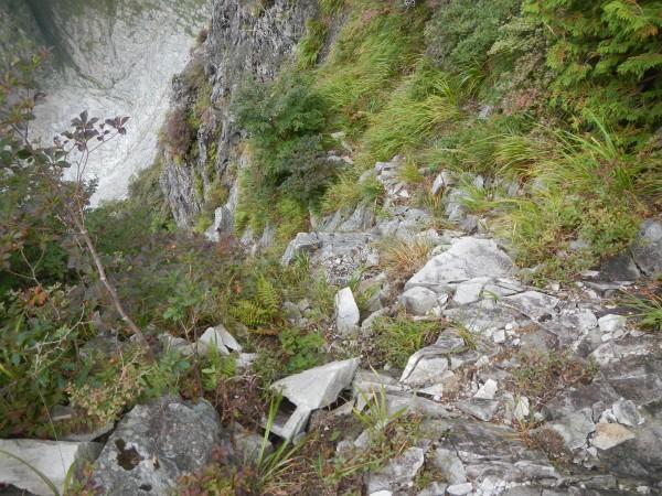 一ノ倉・衝立岩中央稜 051