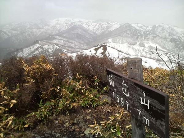 8.稲包山(ここから縦走路を外れる)