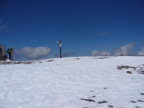 33 硫黄岳山頂