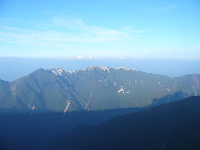 16 鳳凰三山 (終了点から)