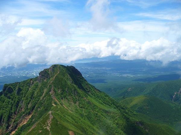44 諏訪湖(赤岳山頂から)