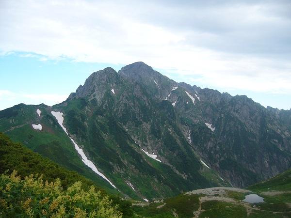 40 剱岳(剱沢キャンプ場から)