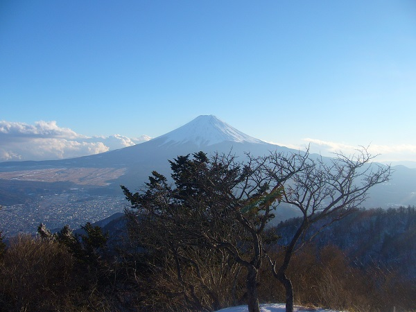 09 富士山(三ツ峠山頂から)