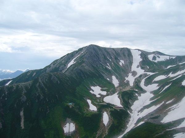 45 別山北峰(一服剱から)
