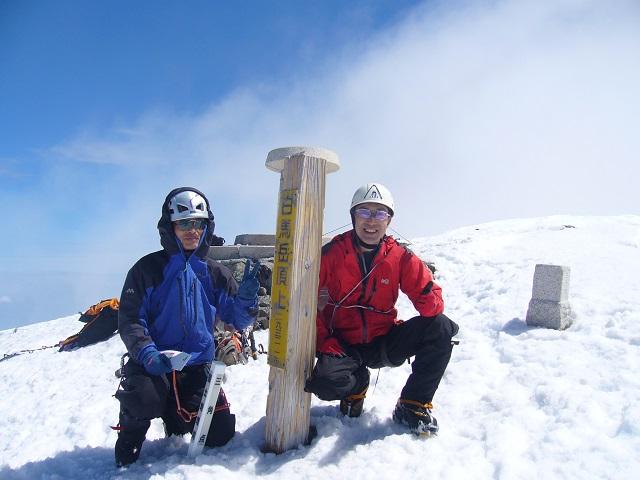 22 白馬岳山頂記念撮影