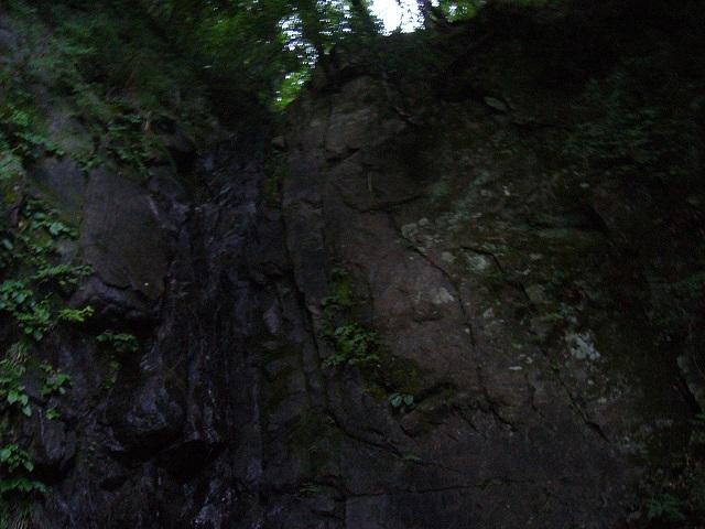 10 F8 15m人工登攀の滝