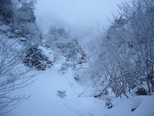 08 三叉峰ルンゼ