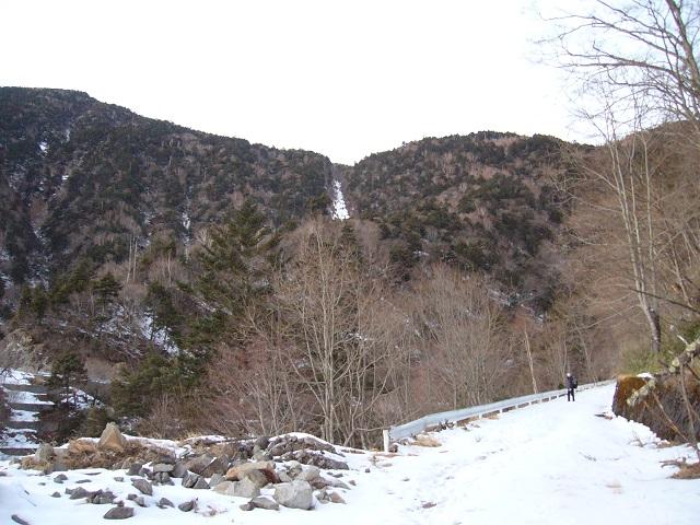 20 林道から3段大滝