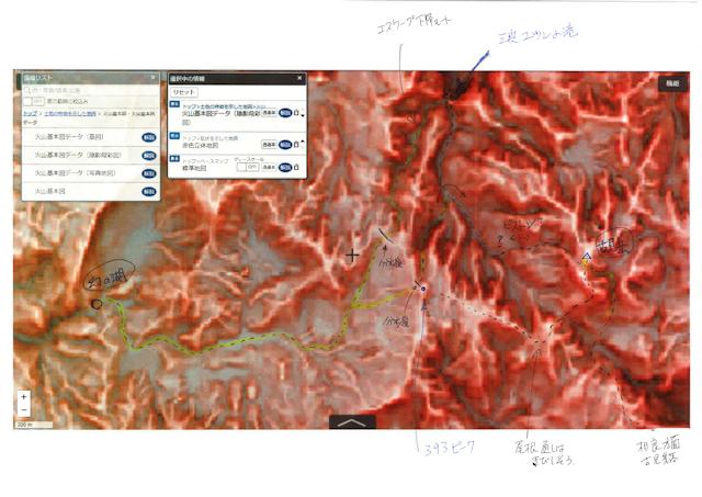 003-赤色立体地図(書き込みあり)