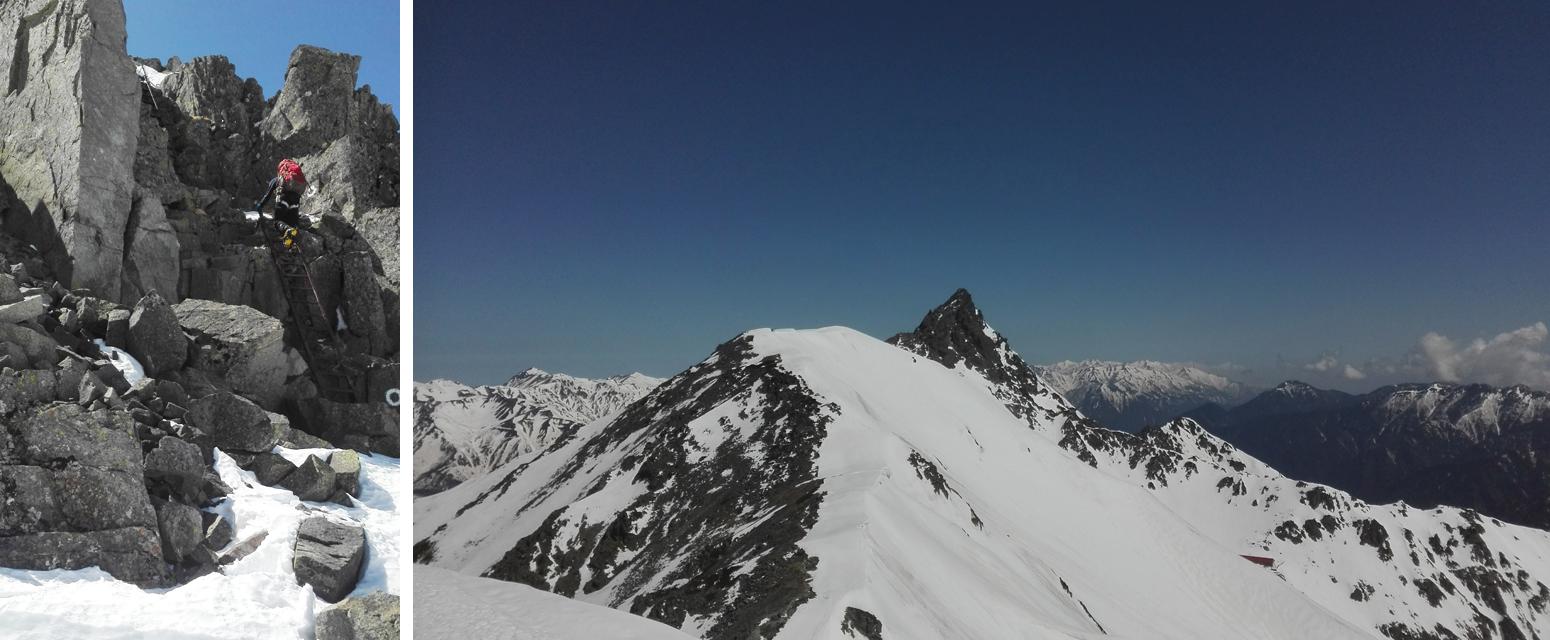 05-南岳から大喰岳へ
