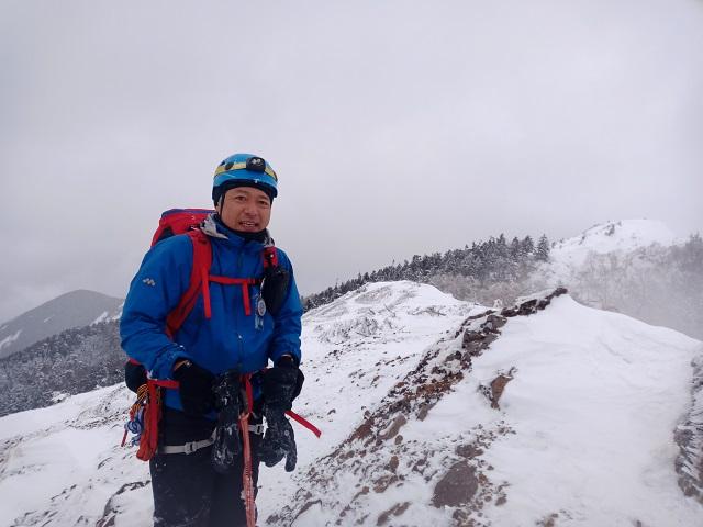 18 ツルネ南峰記念撮影